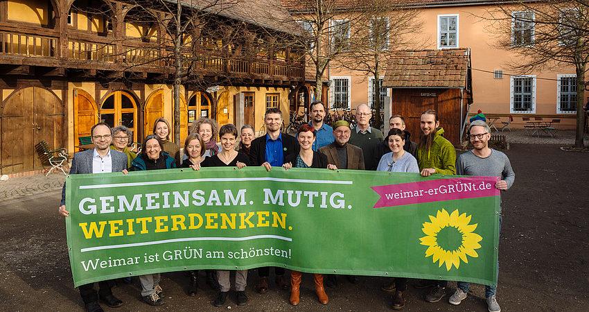 Grüne Kandidat*innen zur Kommunalwahl 2019 Foto: Henry Sowinski